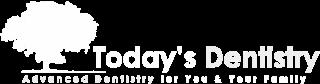 white logo of today's dentistry